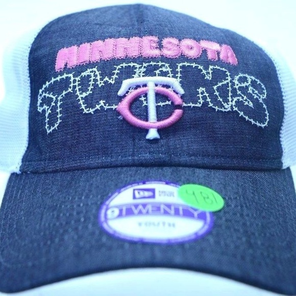 9820d8e6d50 Youth New Era Minnesota Twins 9Twenty Cap